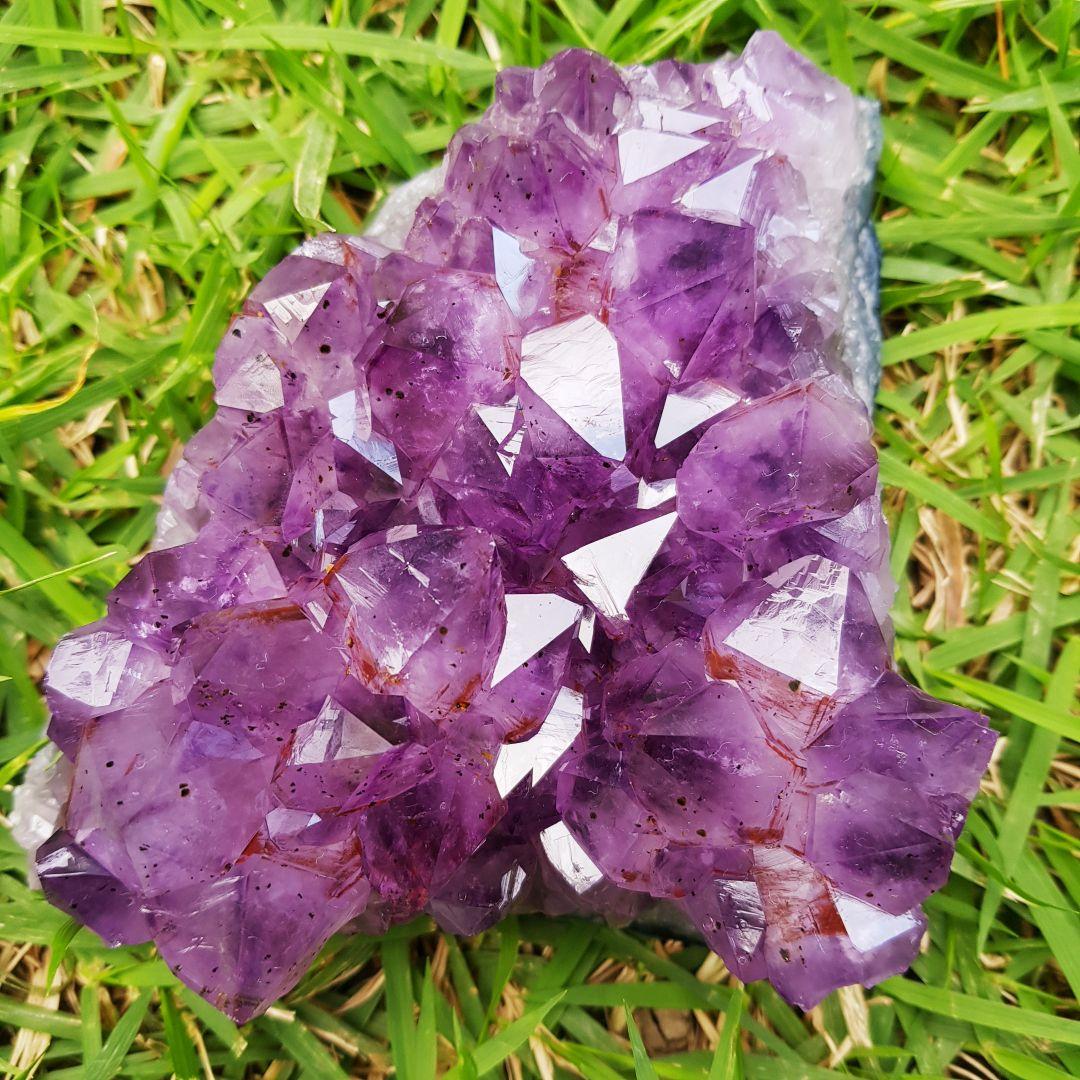 Cristal - Drusa - Ametista Conexão com o Divino