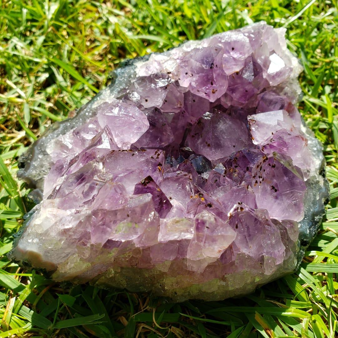 Cristal - Drusa - Ametista Cura Espiritual