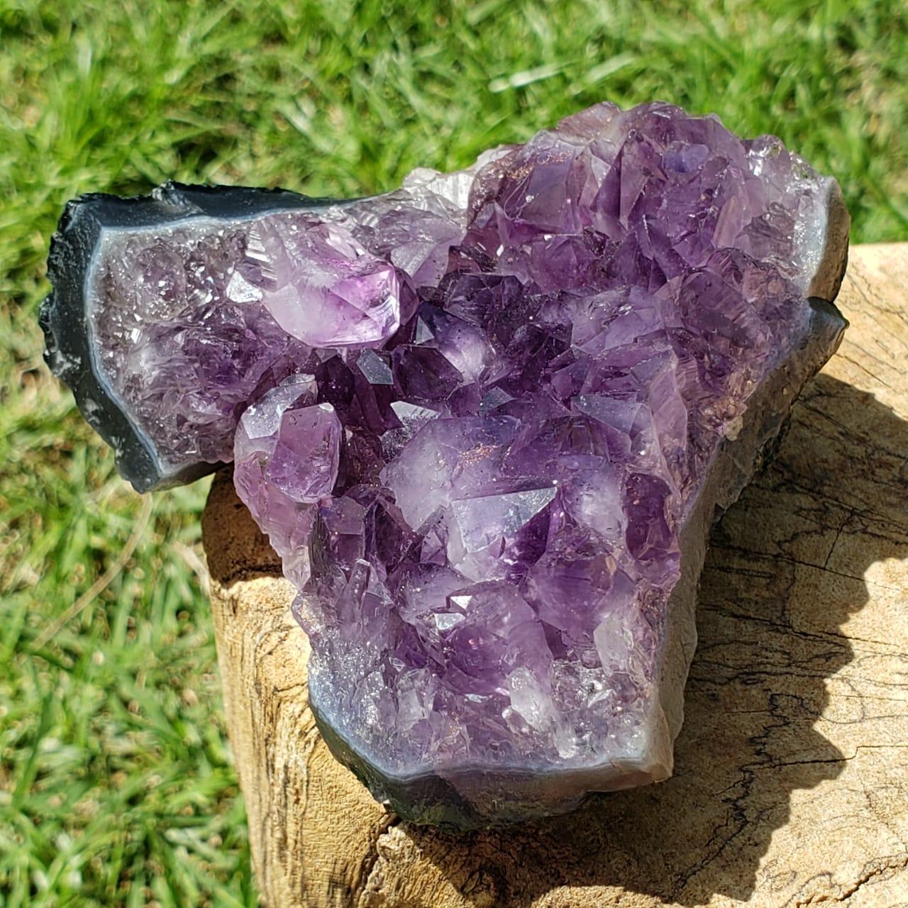 Cristal - Drusa - Ametista - Grande Conexão com o Divino