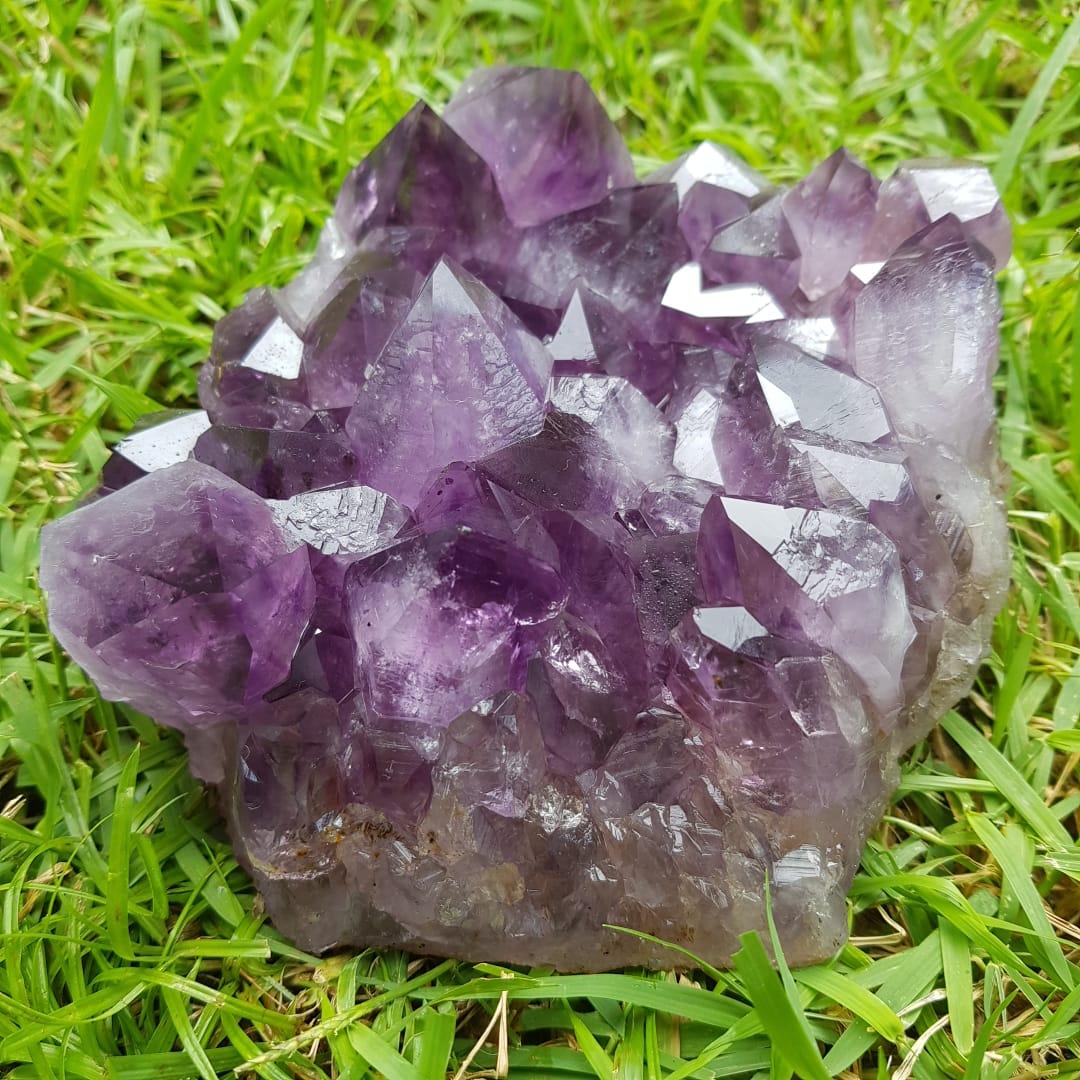 Cristal - Drusa - Ametista - Grande Poder Energético