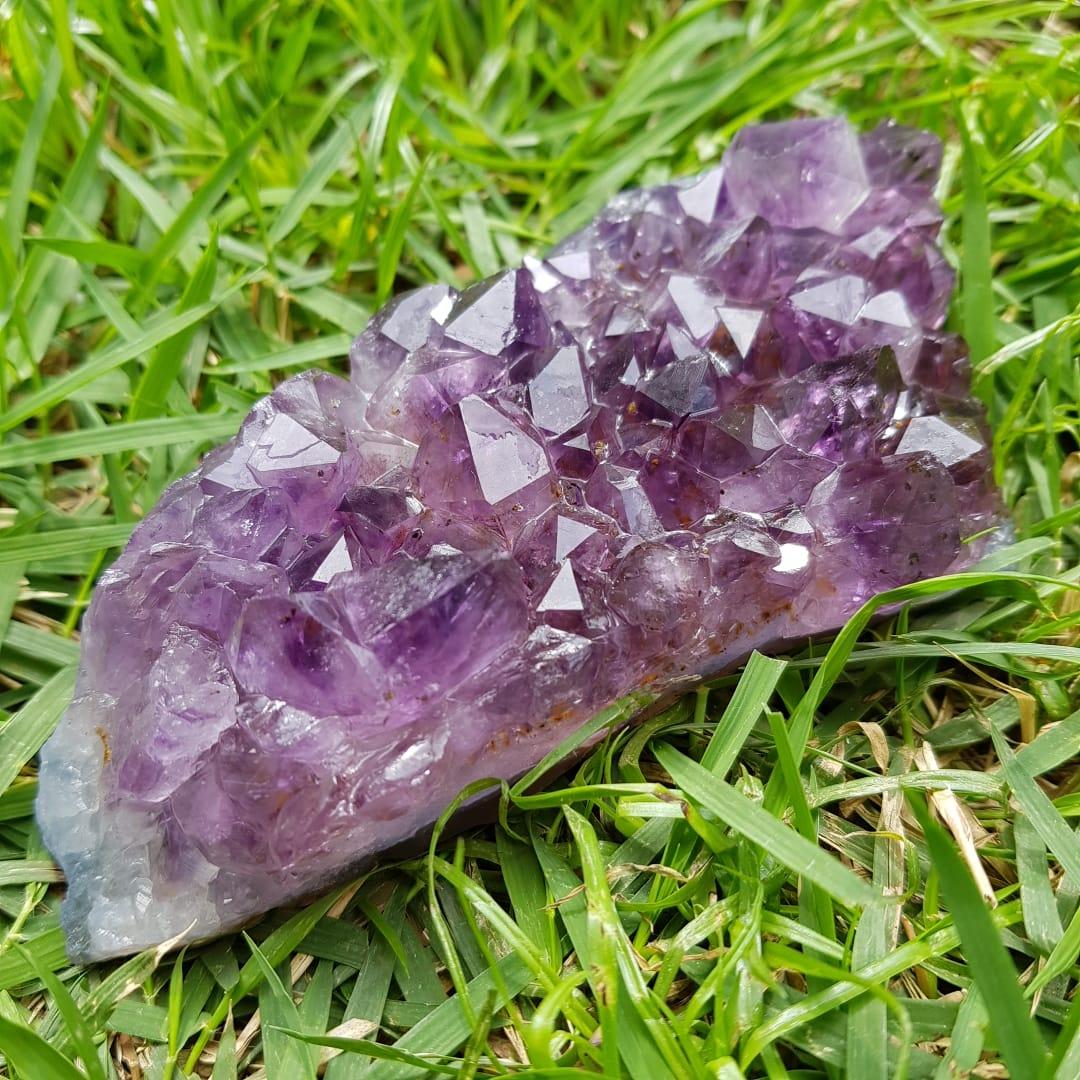 Cristal - Drusa - Ametista - Intuição e Espiritualidade