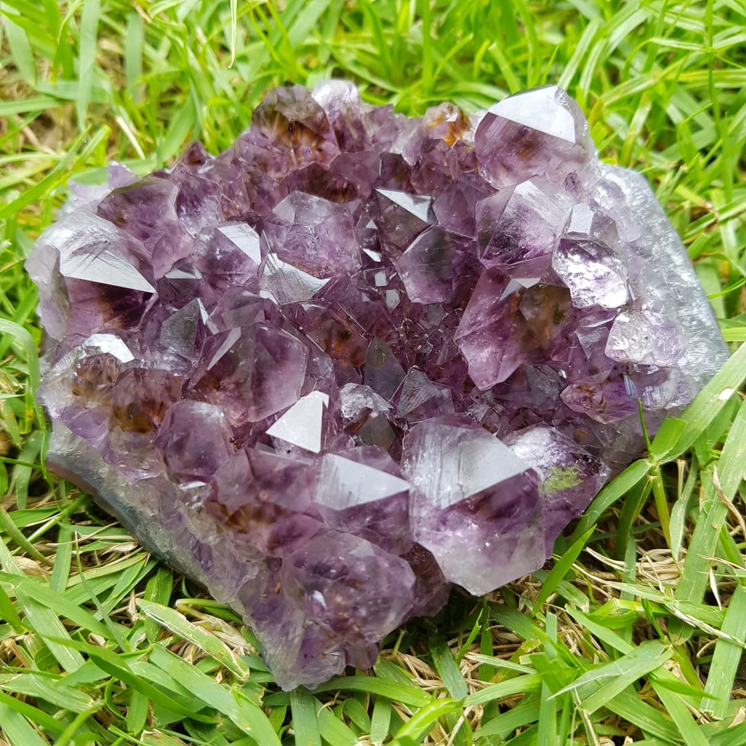 Cristal - Drusa - Ametista - Transmutação de Energias Densas