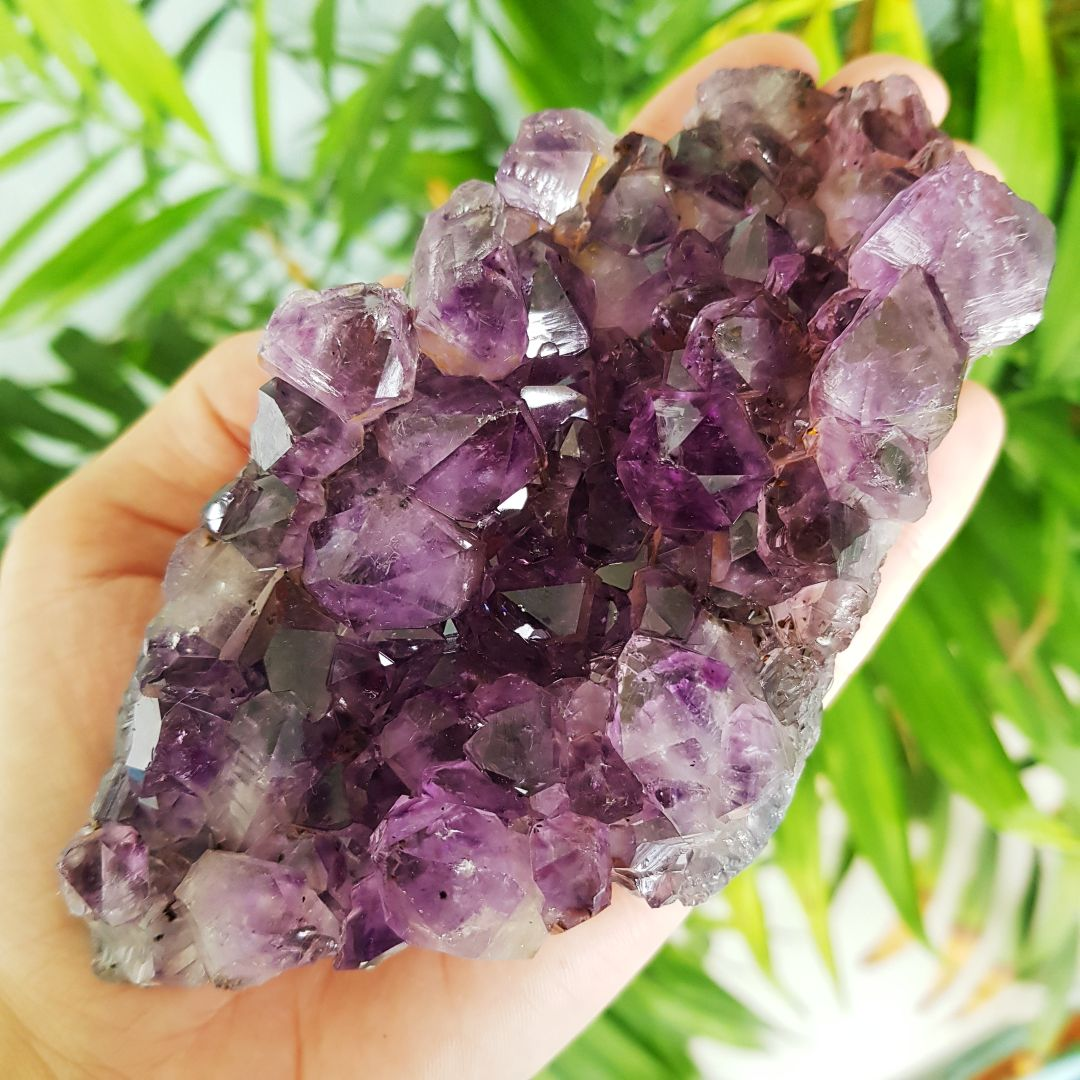 Cristal - Drusa - Ametista Poder de Transmutação