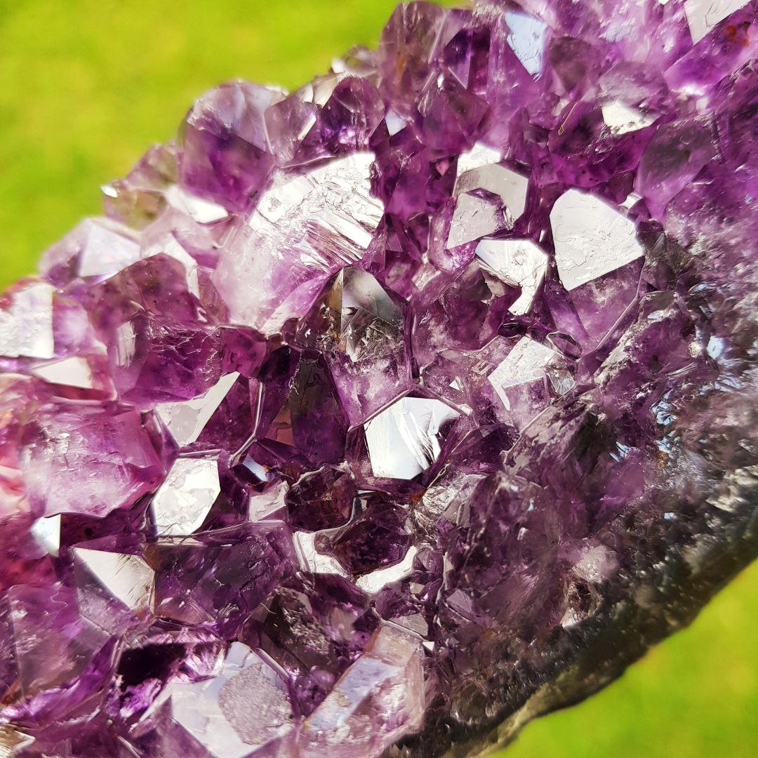 Cristal - Drusa - Ametista Intuição e Espiritualidade