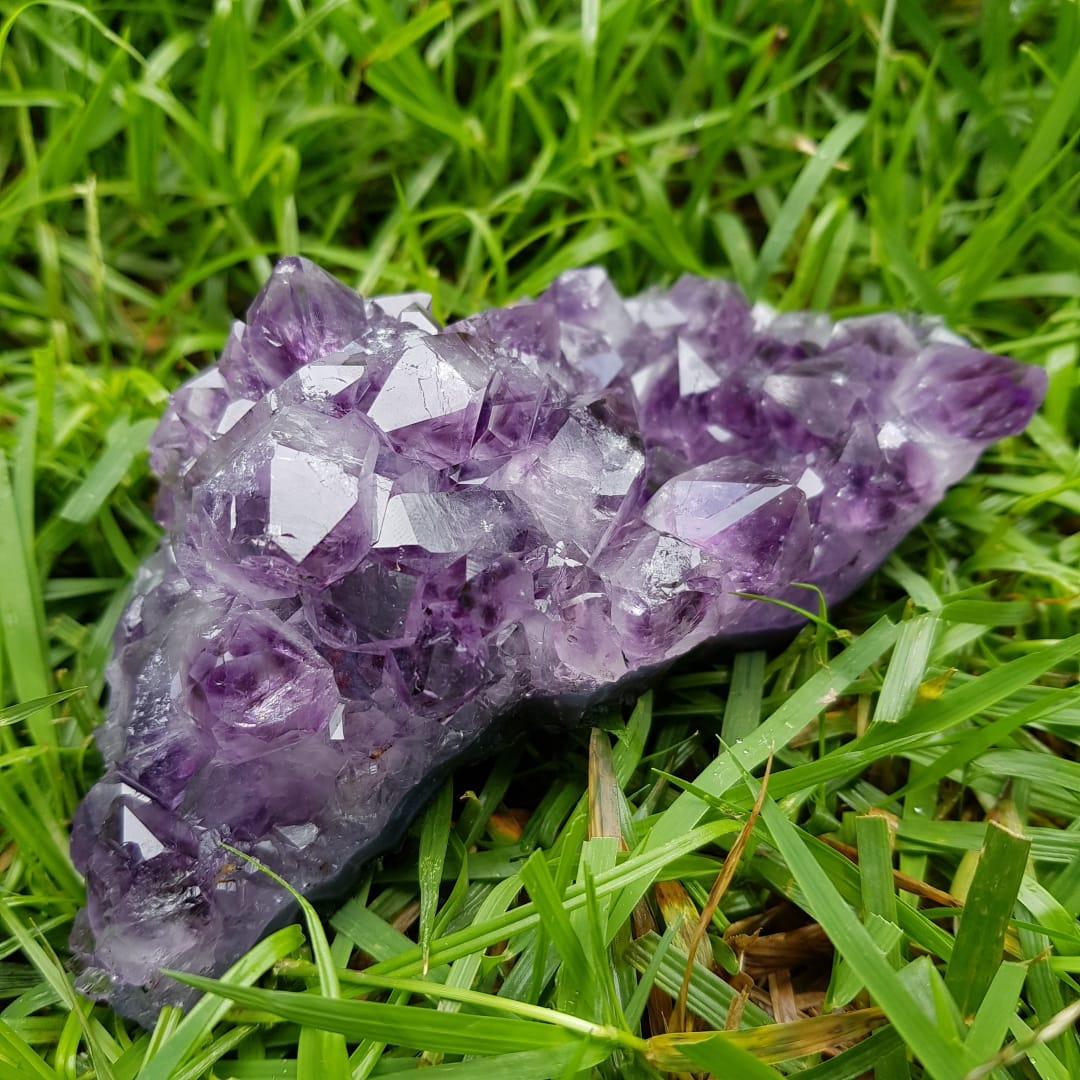 Cristal - Drusa - Ametista Vibração Espiritual
