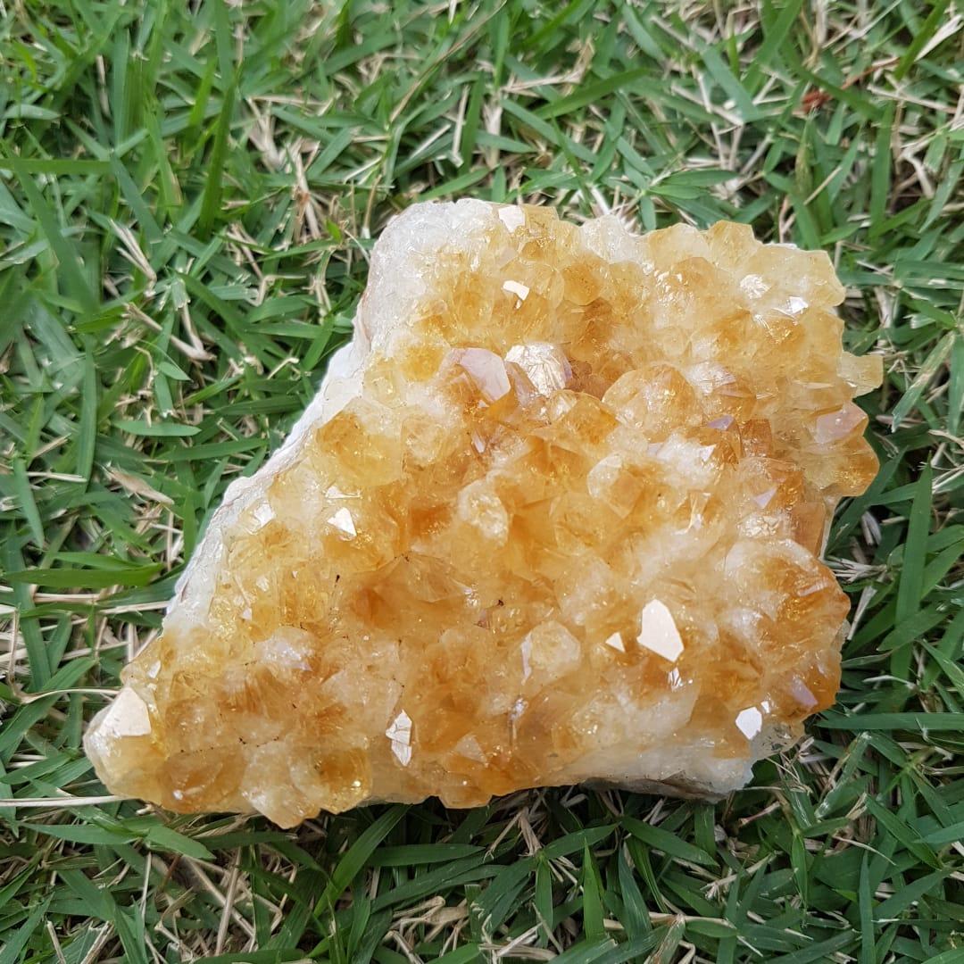 Cristal - Drusa - Citrino