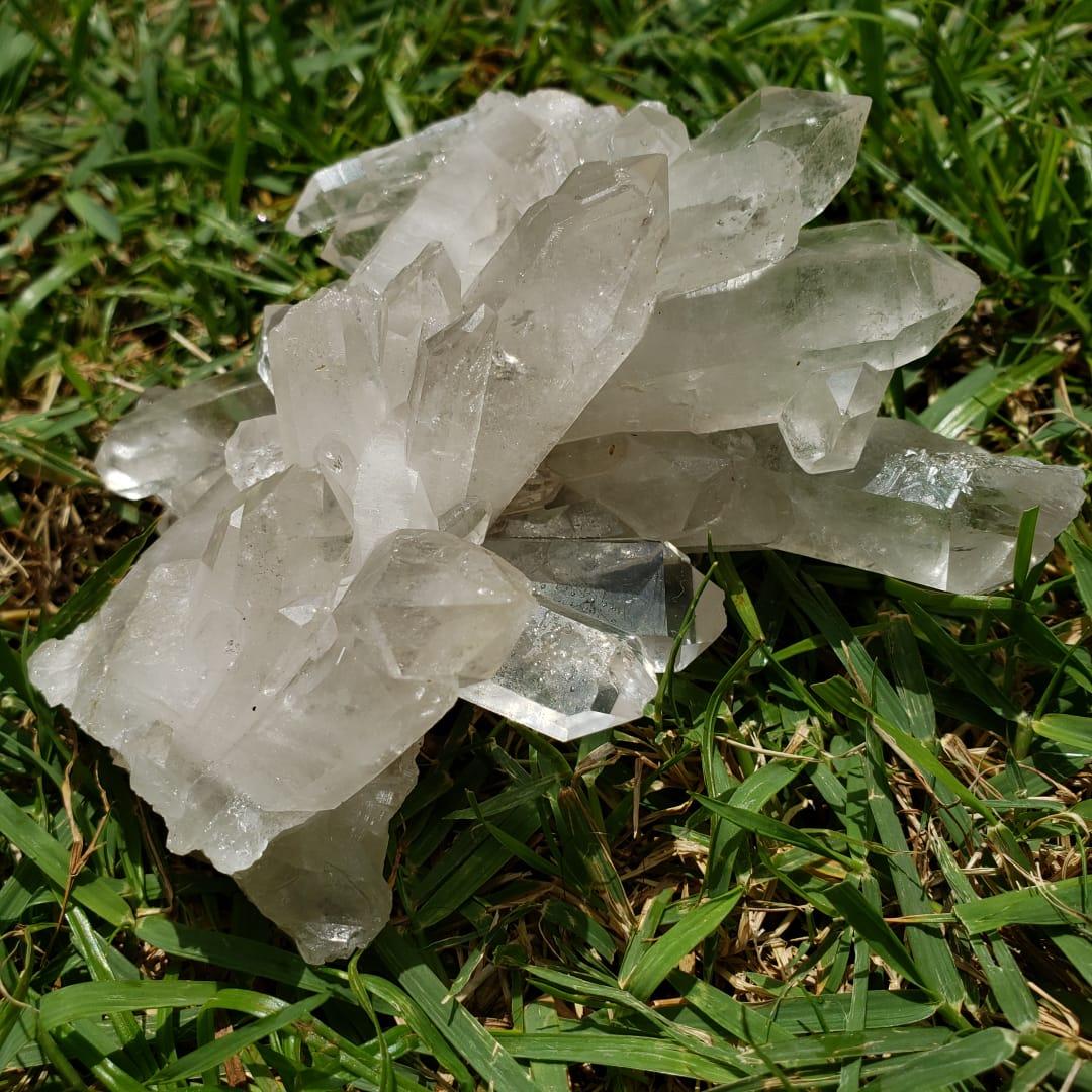 Cristal - Drusa - Quartzo Branco da Paz