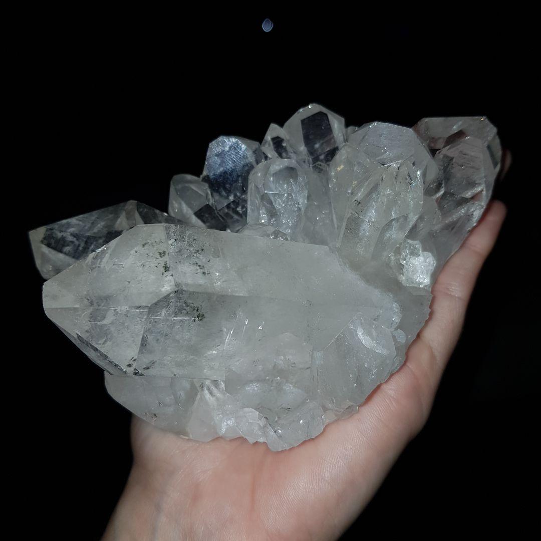 Cristal - Drusa - Quartzo Branco Forte Energia