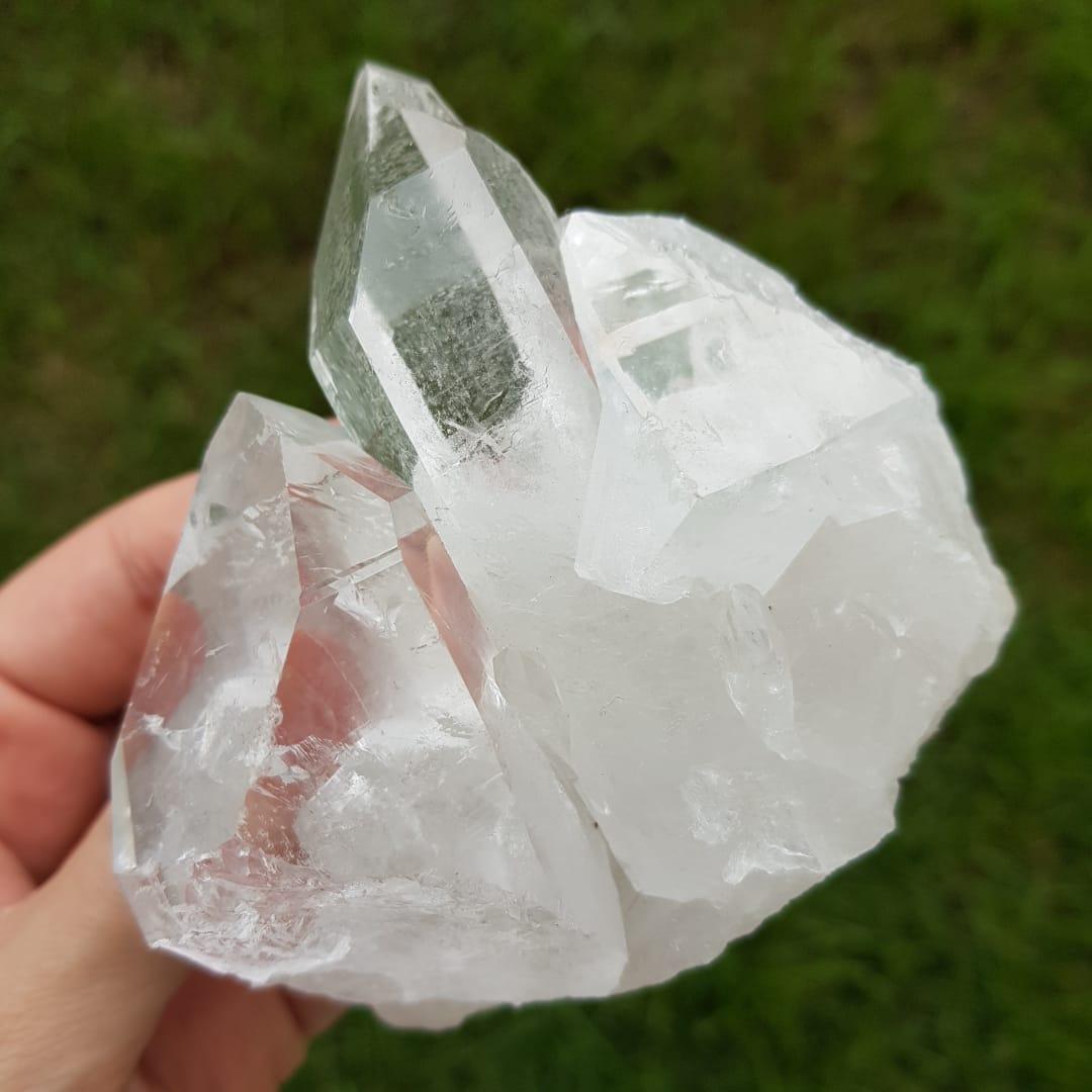 Cristal - Drusa - Quartzo Branco Luz e Energia