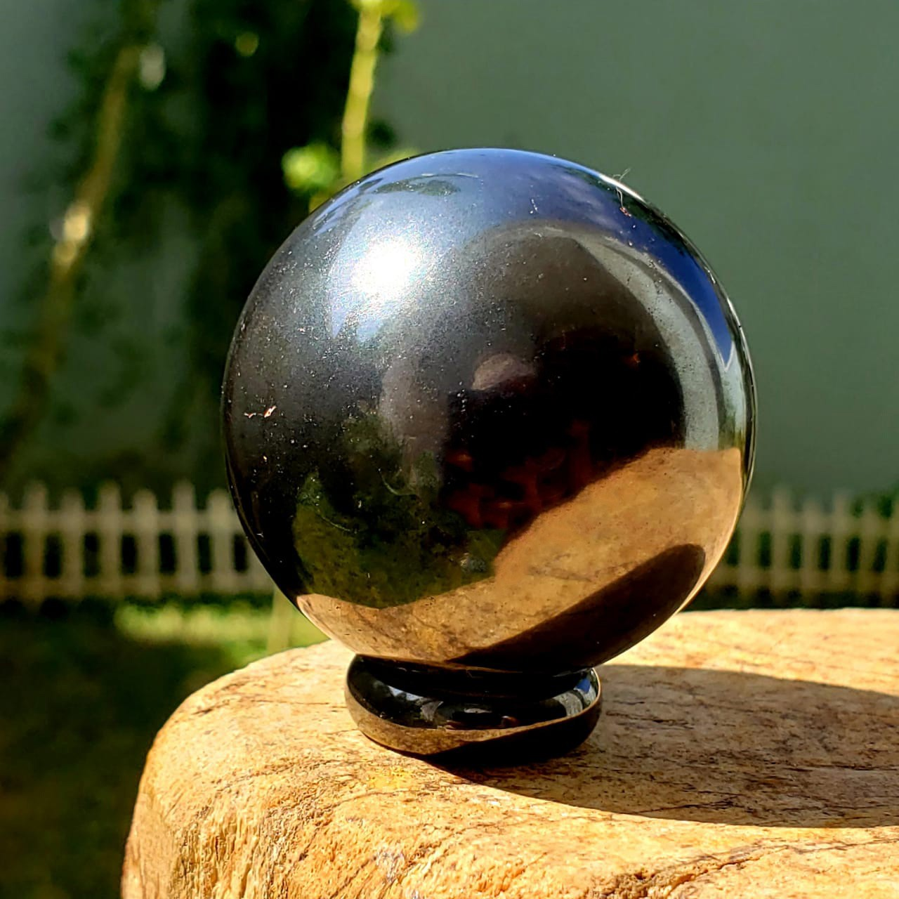 Cristal - Esfera - Hematita
