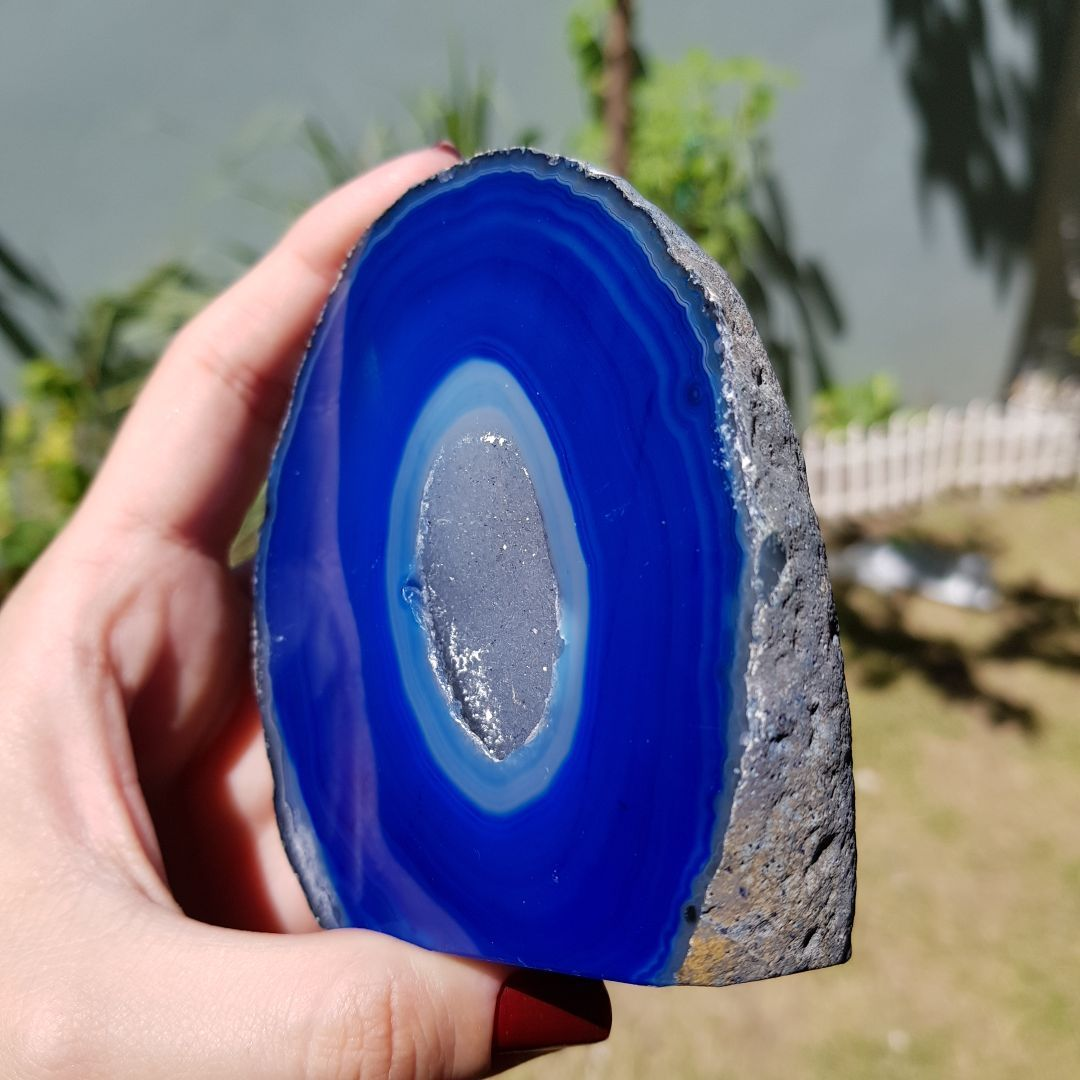 Cristal - Geodo - Ágata Azul