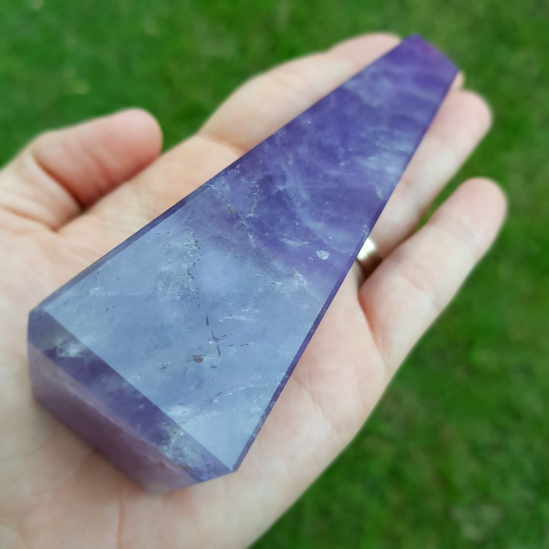 Cristal - Obelisco - Ametista Qualidade Extra