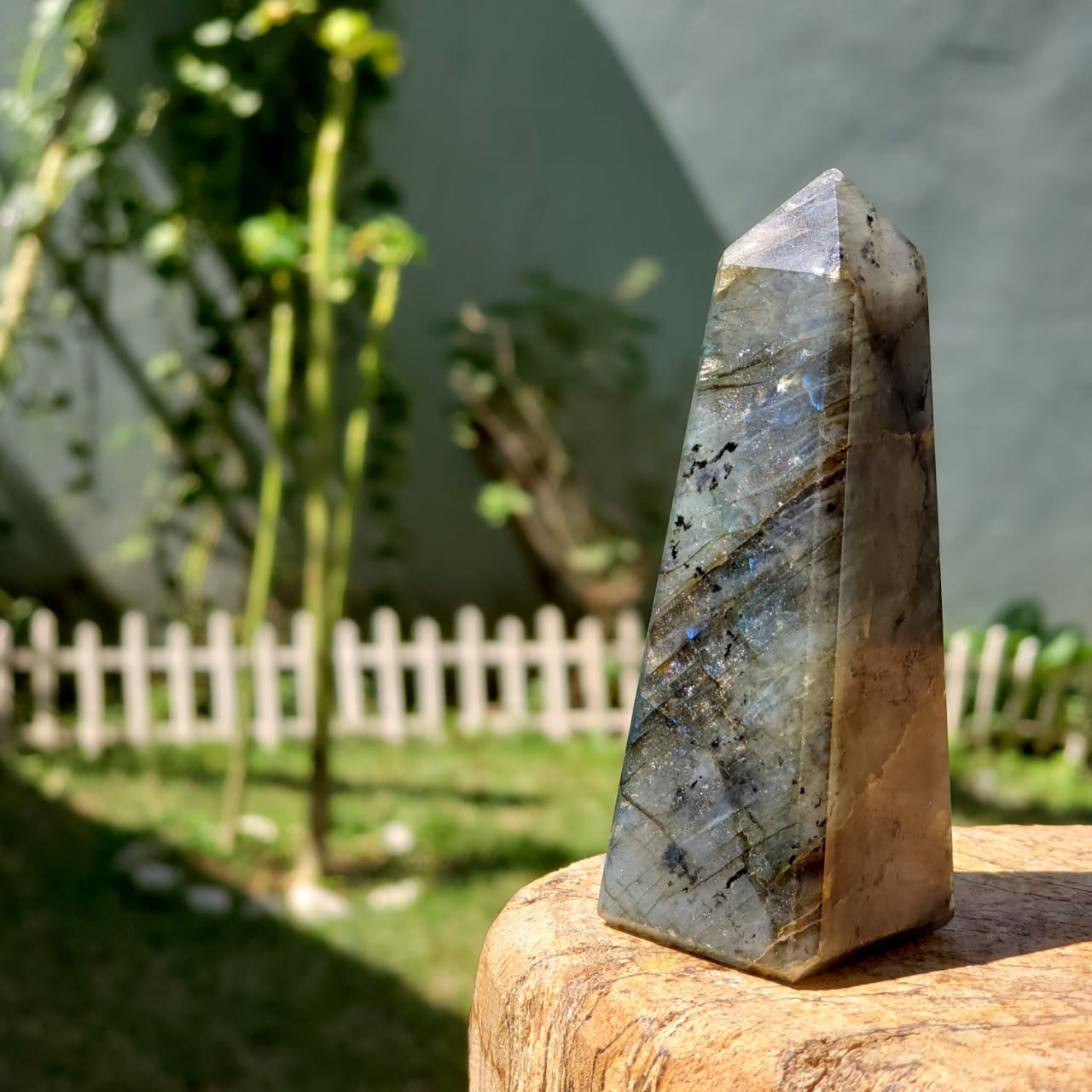 Cristal - Obelisco - Labradorita - Pedra Mística