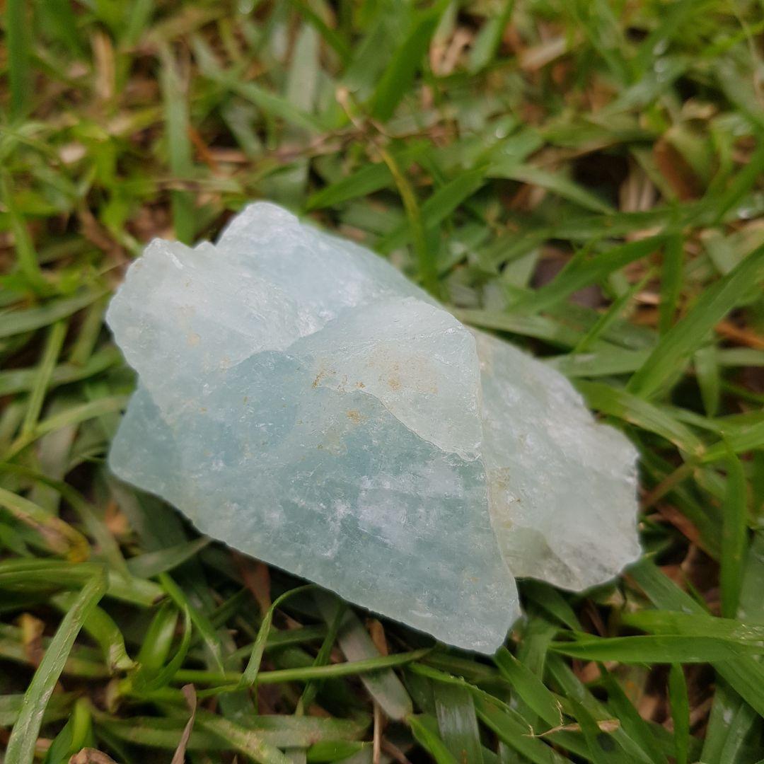 Cristal - Pedra Bruta - Água Marinha