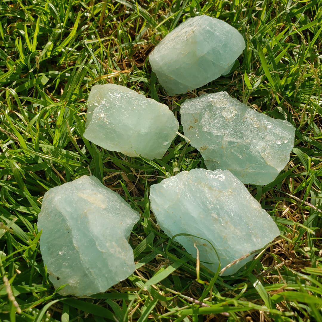 Cristal - Pedra Bruta - Água Marinha - Unidade