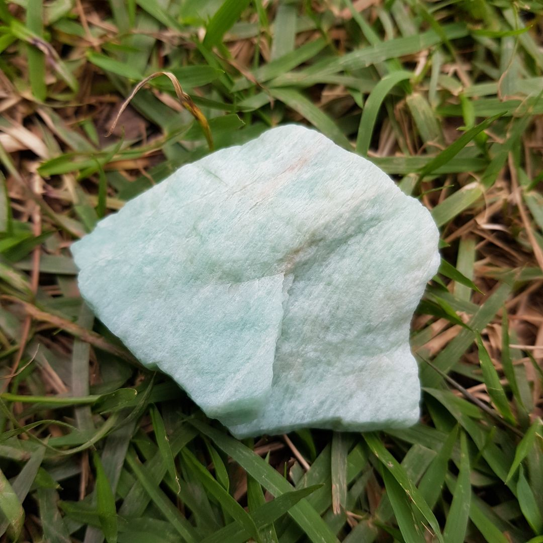 Cristal - Pedra Bruta - Amazonita
