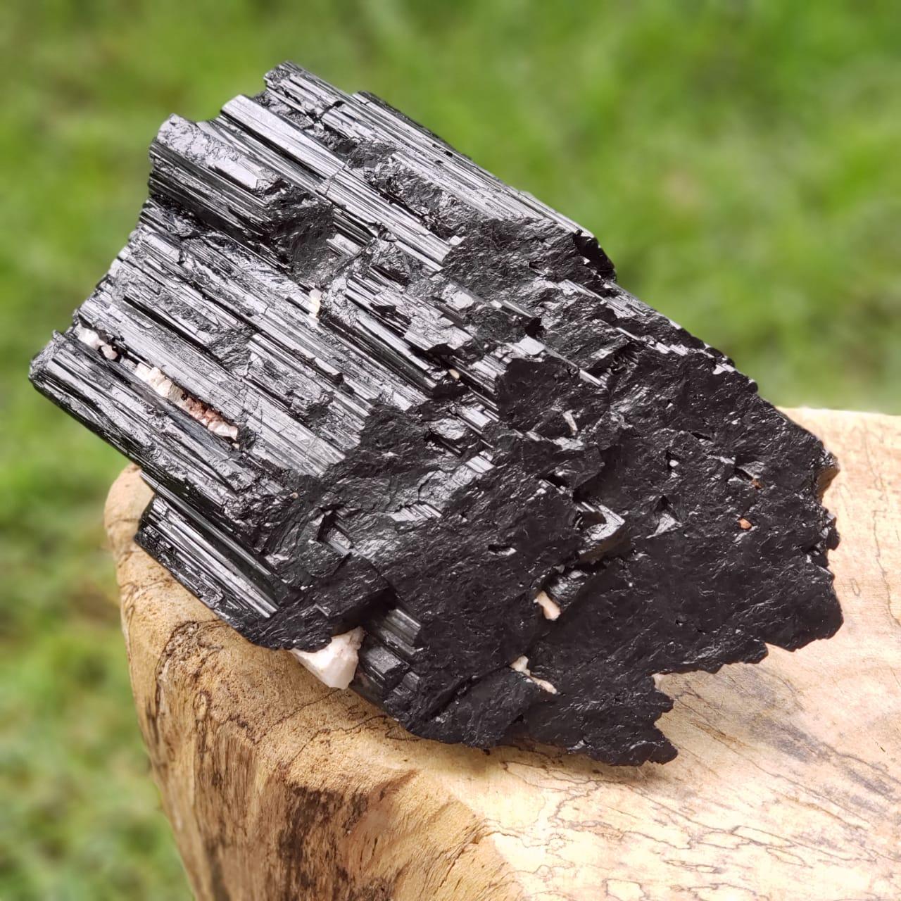 Cristal - Pedra Bruta - Bastão - Turmalina Negra - Autoproteção