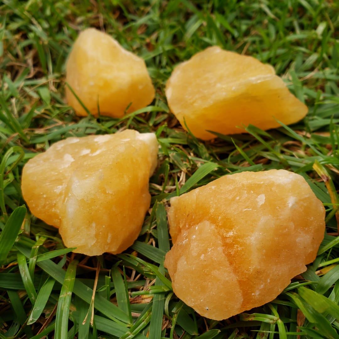 Cristal - Pedra Bruta - Calcita Mel
