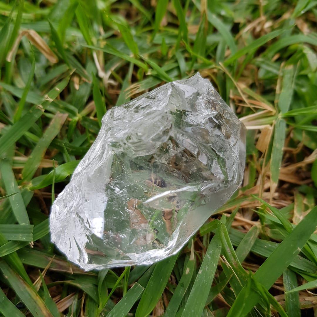 Cristal - Pedra Bruta - Cristal Luz de Quartzo Branco
