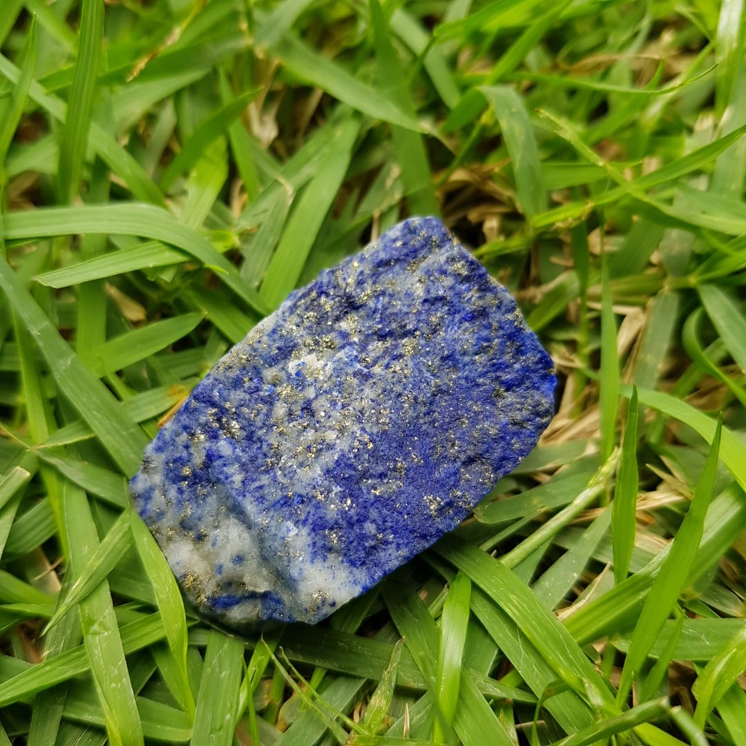 Cristal - Pedra Bruta - Lápis Lazúli
