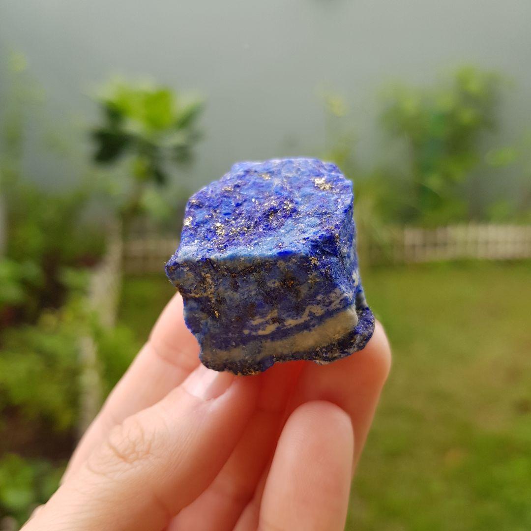 Cristal - Bruto - Lápis Lazúli com Pirita