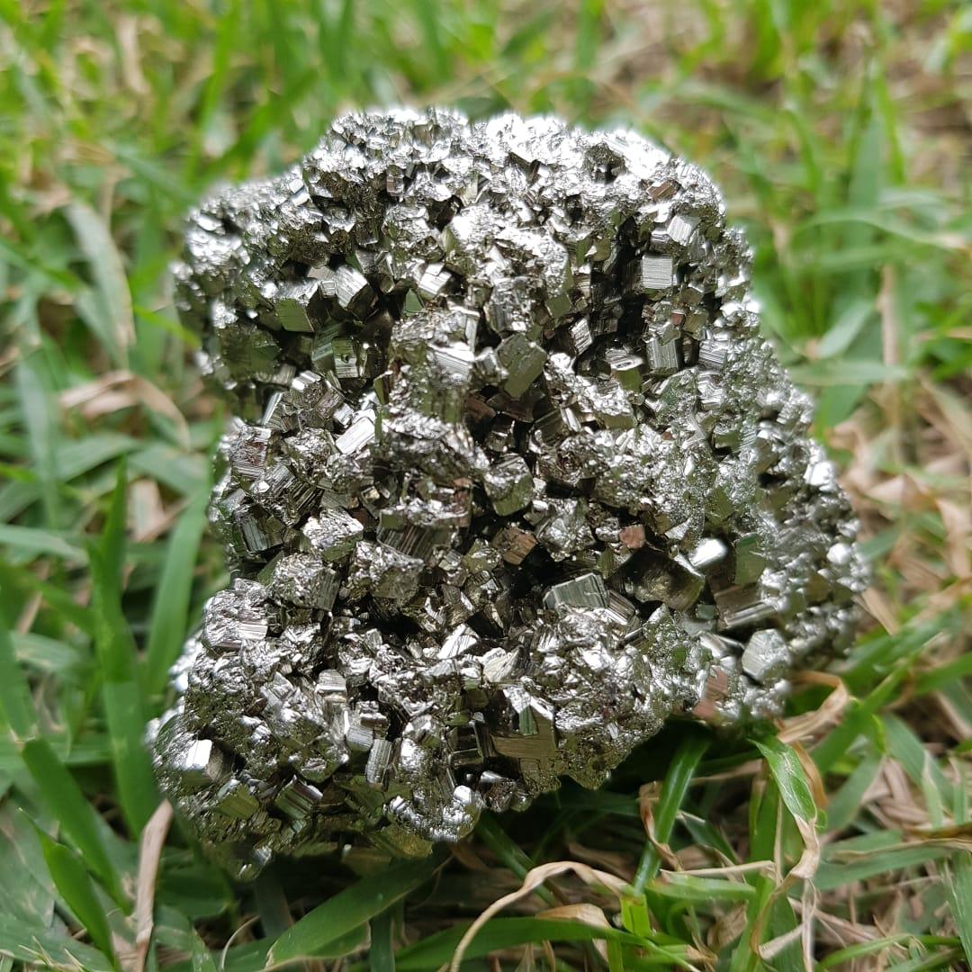 Cristal - Pedra Bruta - Pirita - força e sucesso