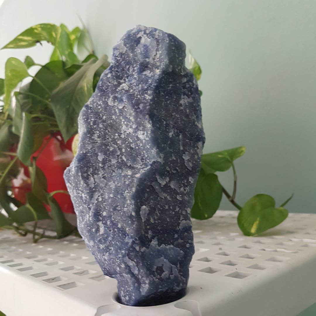 Cristal - Pedra Bruta - Quartzo Azul