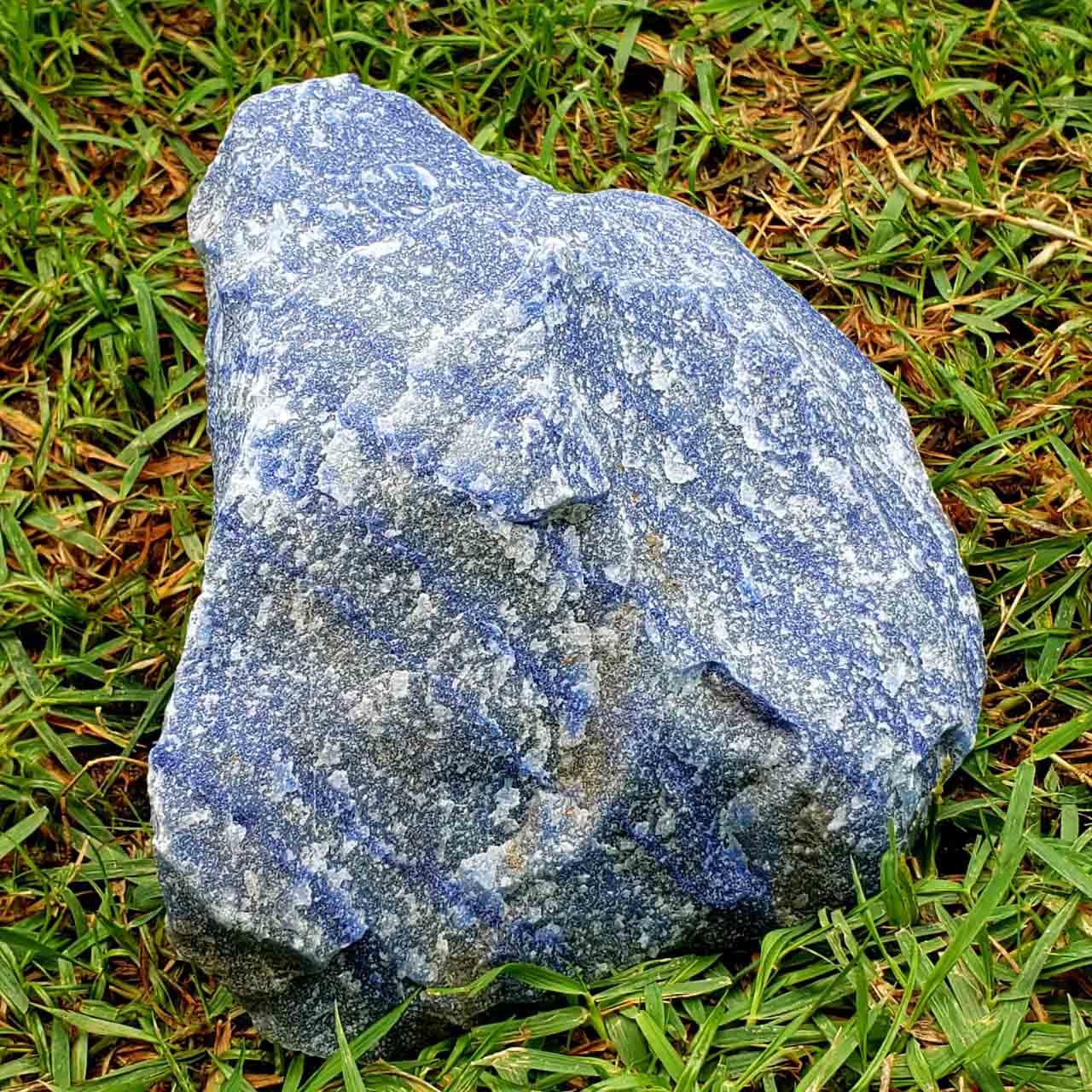 Cristal - Pedra Bruta - Quartzo Azul - Concentração
