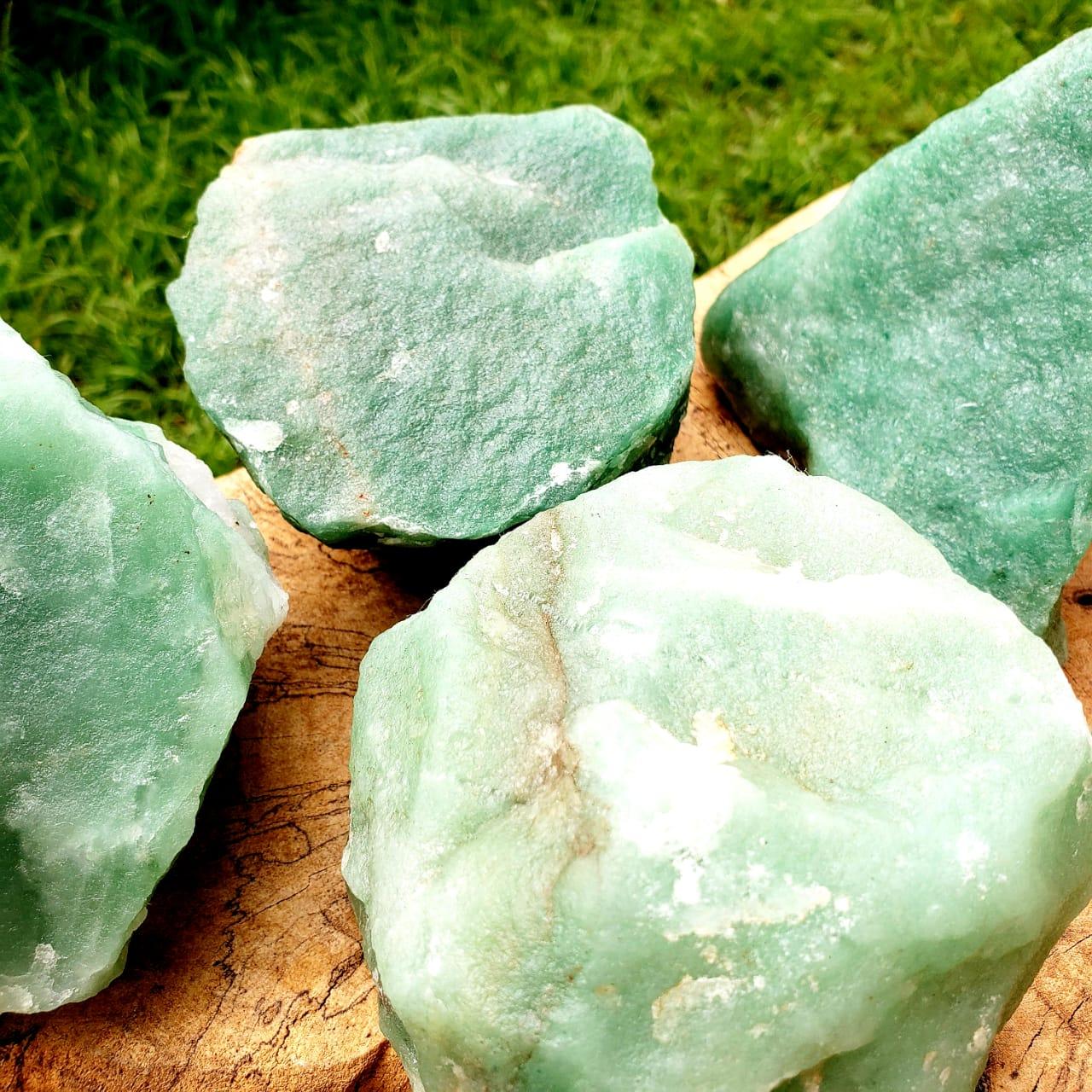 Cristal - Pedra Bruta Quartzo Verde