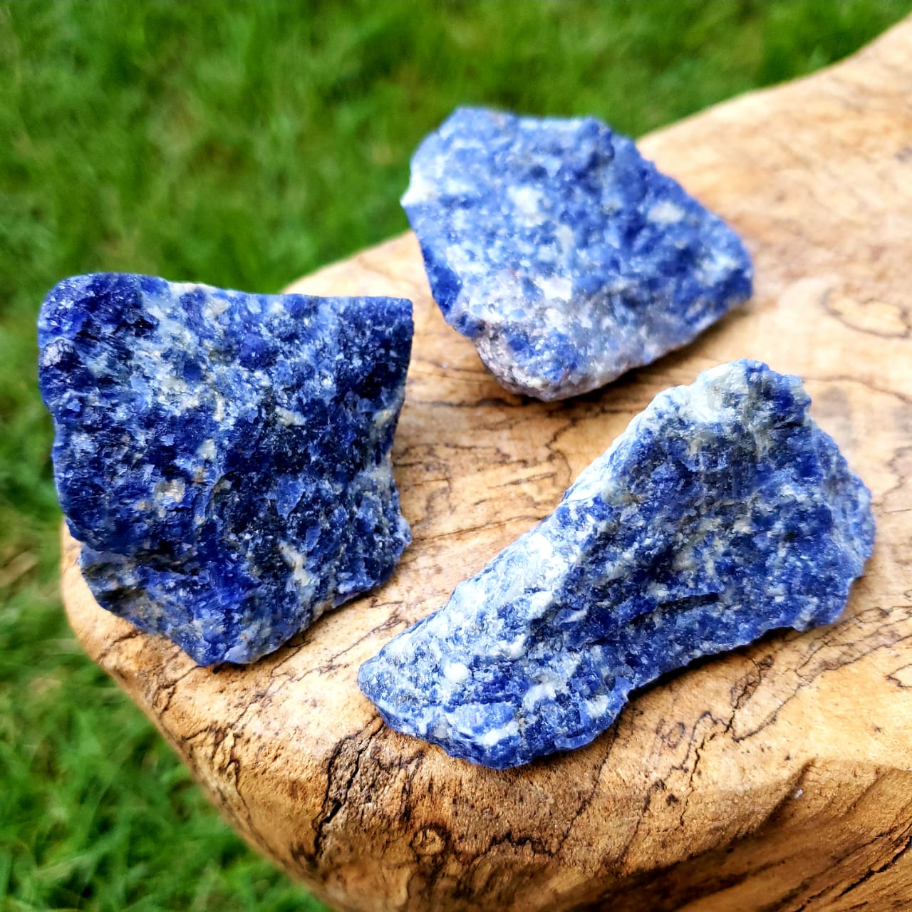 Cristal - Pedra Bruta - Sodalita