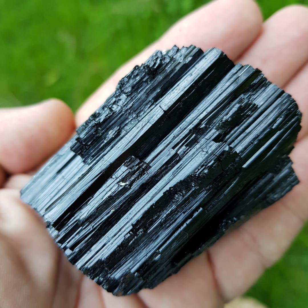 Cristal - Pedra Bruta - Turmalina Negra - Combate Energias Negativas