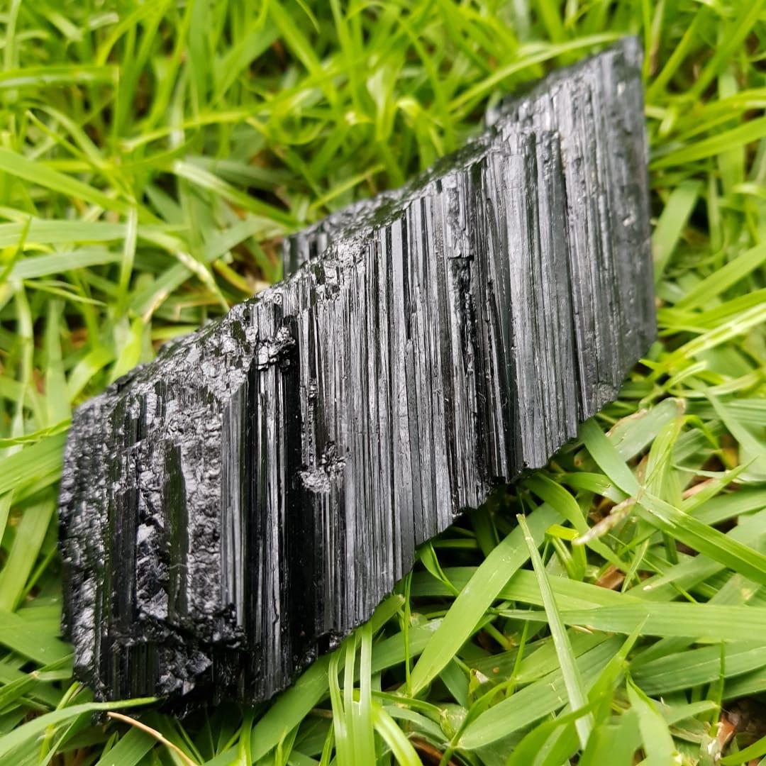 Cristal - Pedra Bruta - Turmalina Negra - Escudo Protetor