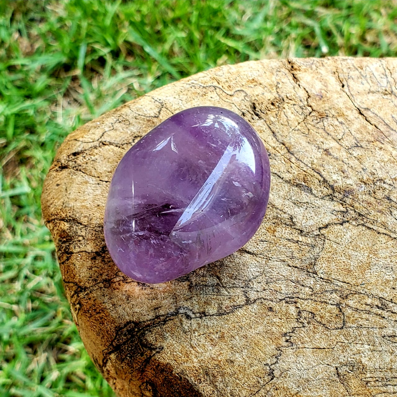 Cristal Pedra Rolada Ametista