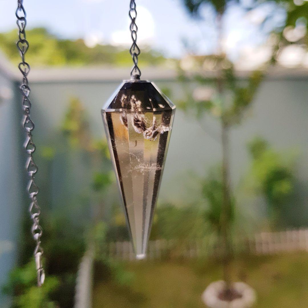 Cristal - Pêndulo - Quartzo Fumê