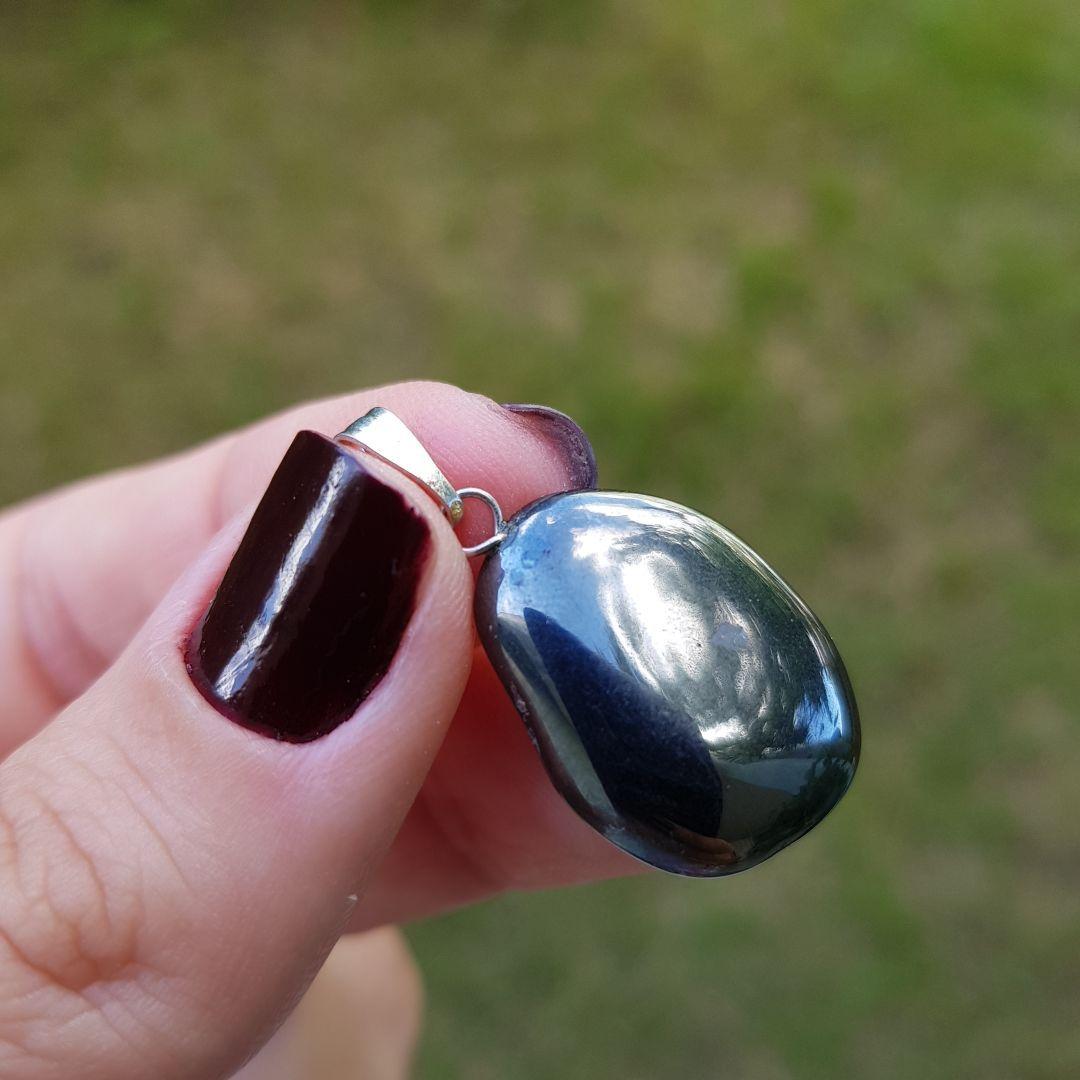 Cristal - Pingente - Hematita