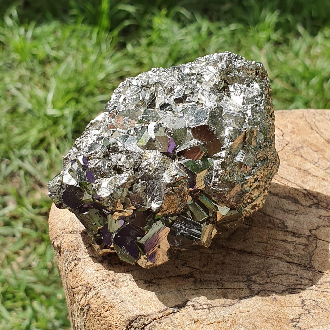 Cristal - Pirita - Pedra Bruta da Prosperidade