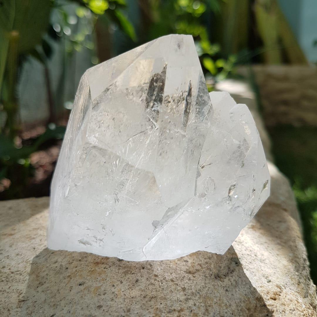 Cristal - Ponta - Quartzo Branco Luz e Energia