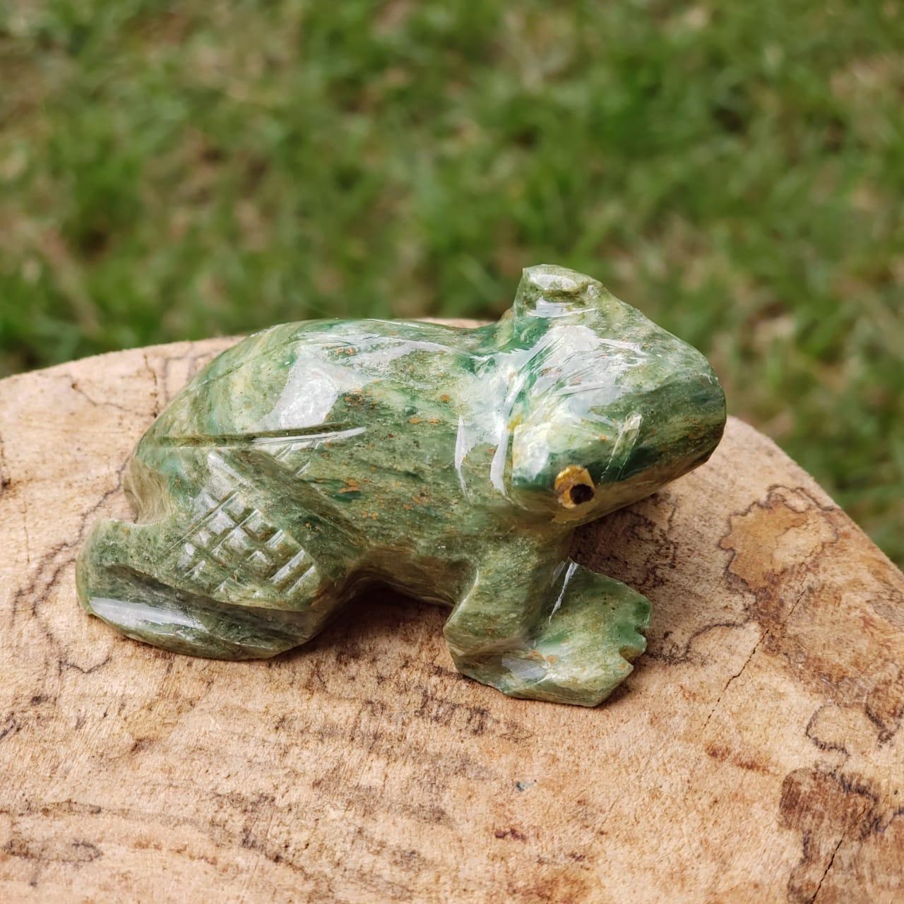 Sapo de Pedra Verde - Serpentinita