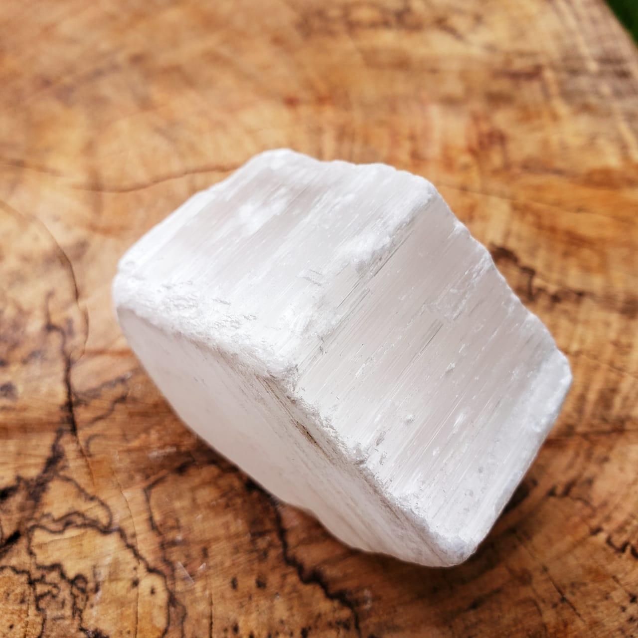 Cristal - Selenita Pedra Bruta (Unidade)