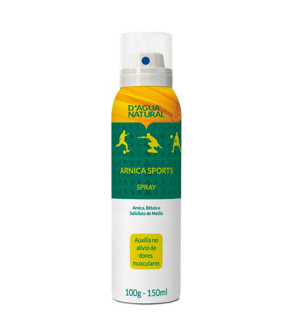 D'água Natural - Arnica Sports Spray - 150ml
