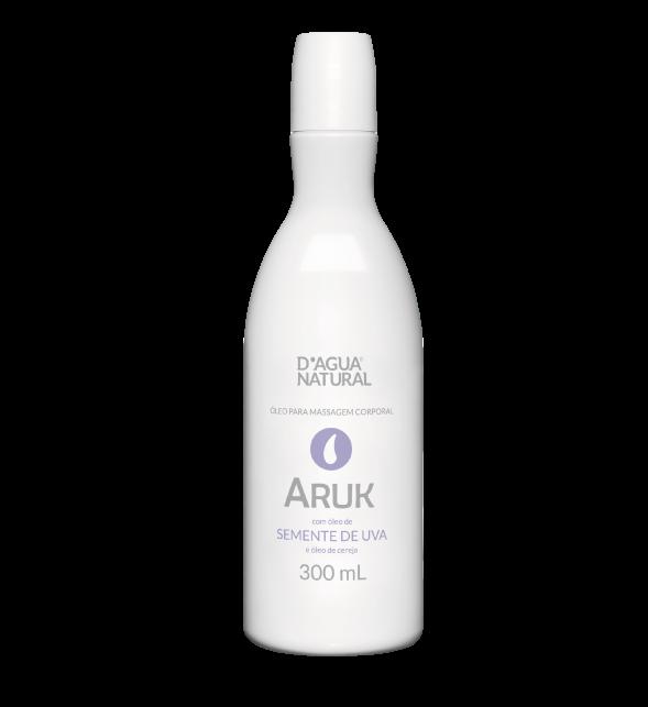 D'água Natural - Aruk - Óleo de Semente de Uva e Cereja - 300ml