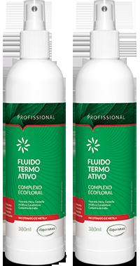 D'água Natural - Kit Duo - Fluido Termo Ativo com Nicotinato de Metila - 380ml