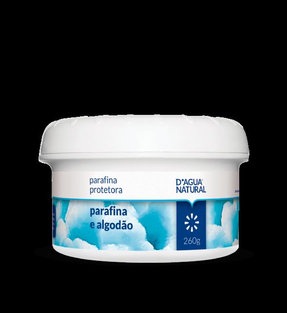 D'água Natural - Parafina Protetora - Parafina e Algodão - 260g