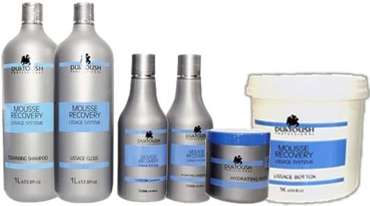 Duktoush - kIt Completo Mousse Recovery - Liso Absoluto