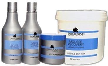 Duktoush - Kit Mousse Recovery - Botox + Kit Pós Química (Home Care)