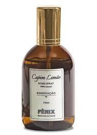 Fênix - Home Spray - Capim Limão - Renovação - 100ml