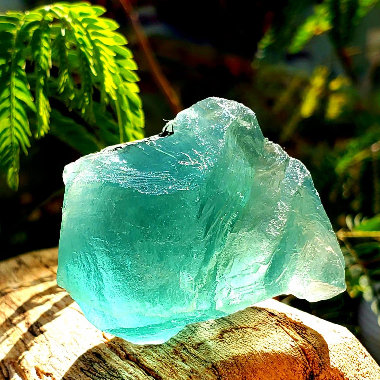 Fluorita Verde Pedra Bruta