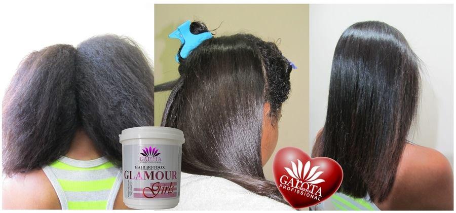 Garota Carioca - Botox Glamour Girls 1Kg SEM FORMOL + GRÁTIS Máscara 250g