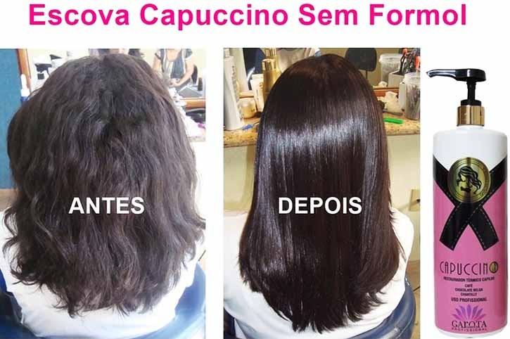 Garota Carioca - Escova de Capuccino - SEM FORMOL - 1L