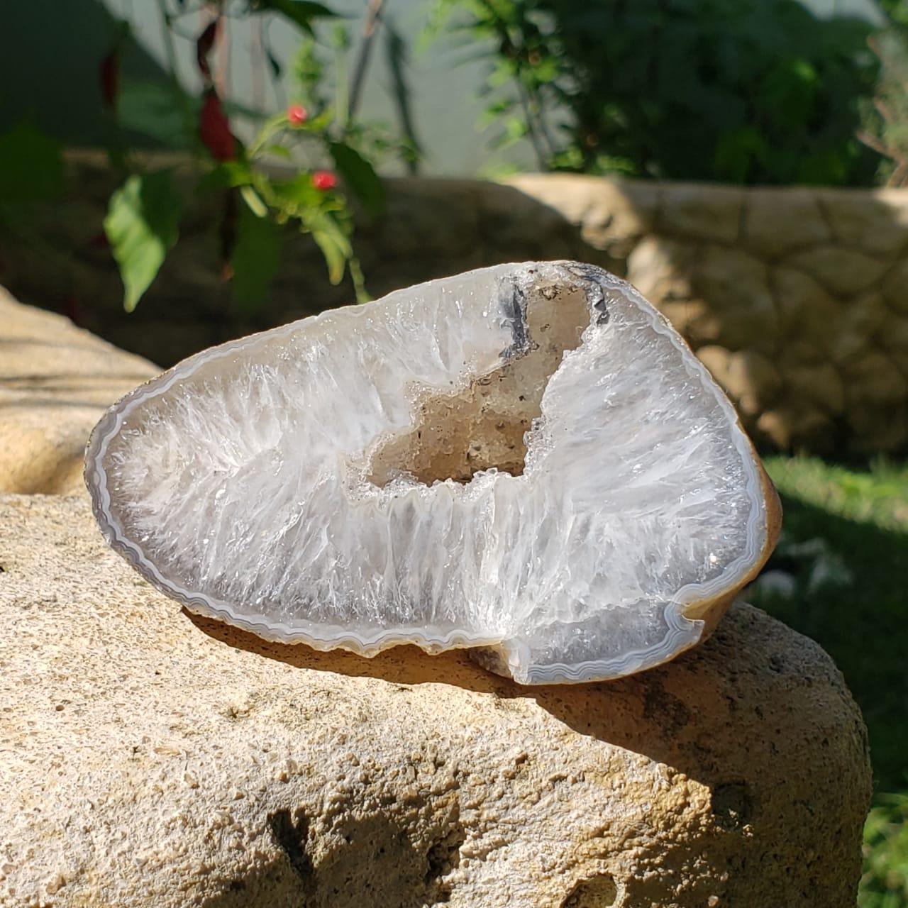 Geodo de Ágata Natural